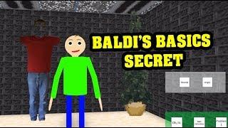 BALDI'S BASICS ROBLOX ROLEPLAY SECRET