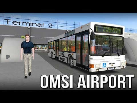 OMSI 2 - Airport Shuttle Terminal 2 Route