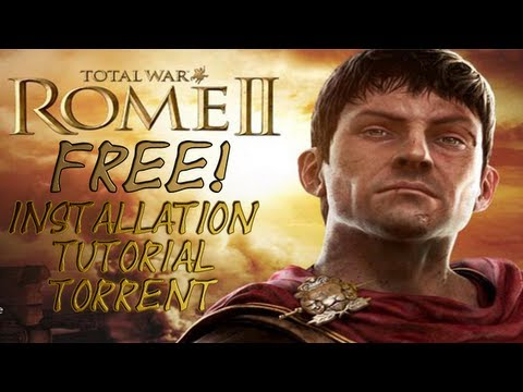 Total War Rome 2 FREE! Torrent Voice Tutorial Installation!