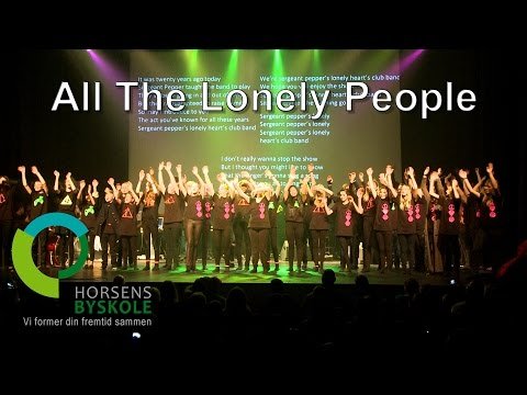 All the lonely people. Horsens Byskoles musical 2015