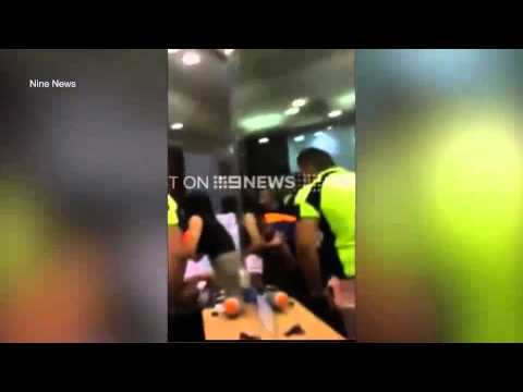 Security guards called to a brawl in a hair salon in for Salon brawl