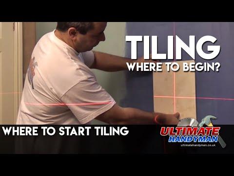 where to start tiling