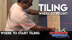 where to start tiling