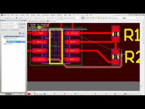 Altium Designer Tutorial: Schematic capture and PCB layout (2of2 ...
