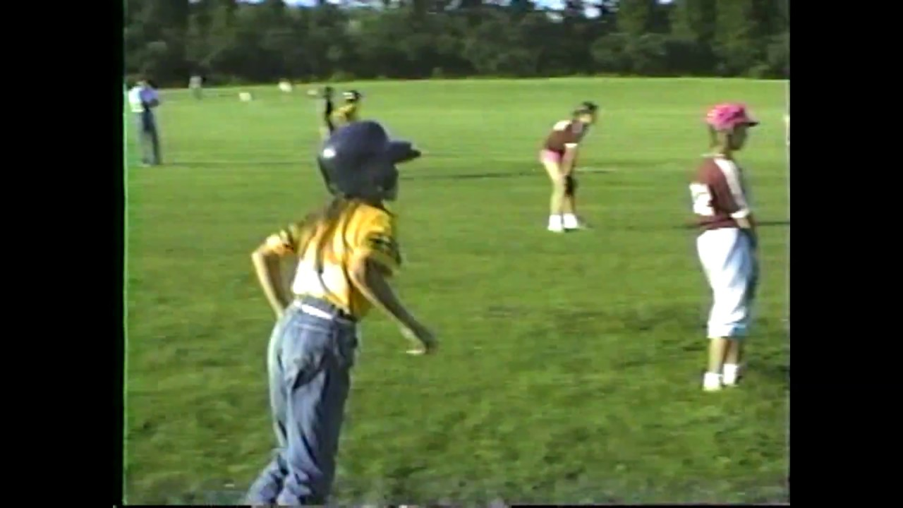 Champlain - Rouses Point peewee softball  7-27-87