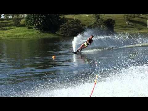 Isabel King, Slalom Course, Ski Costa Rica, March 24, 2015