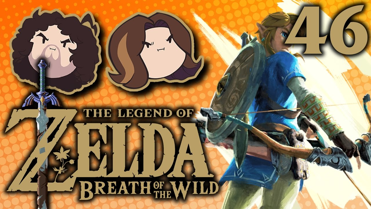 Breath of the Wild: Big Elephant Shoots Laser – PART 46 – Game Grumps