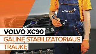 VOLVO XC70 vadovas nemokamas atsisiųsti