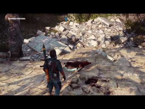 Just Cause 3- Weeping Angels (EASTER EGG)