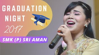 Wani Kayrie - MEMORI TERCIPTA (LIVE) @ SMK (P) Sri Aman Graduation Night 2017