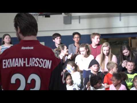 Oliver Ekman-Larsson Visits Boys & Girls Clubs of Greater Scottsdale