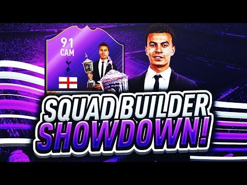 FIFA 17 SQUAD BUILDER SHOWDOWN vs AJ3 CRAZIEST CAM CARD? YPOTY DELE ALLI - ULTIMATE TEAM