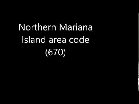 Northern Mariana Island area code