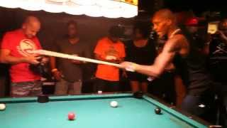 DMX Shoots Pool, Sings Nelly