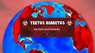 When You Troll Humanity To Extinction in Plague Inc Evolved