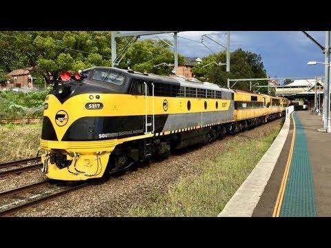 Sydney Trains Vlog 1513: Freight Trains In NSW Australia