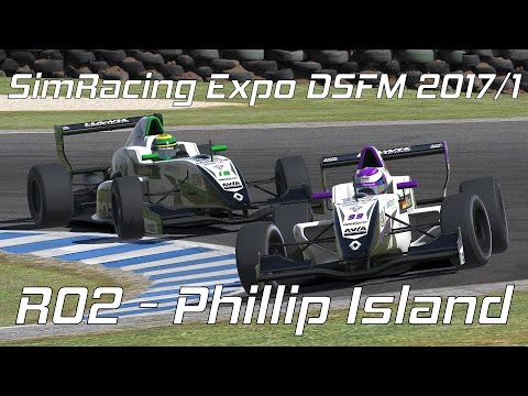 iRacing // SimRacing Expo DSFM 2017/1 - R02 - Phillip Island [Livestream]