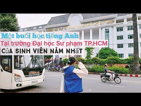 Trang Naria | MỘT BUỔI HỌC TIẾNG ANH TẠI TRƯỜNG ĐẠI HỌC SƯ PHẠM TP.HCM | SINH VIÊN NĂM NHẤT