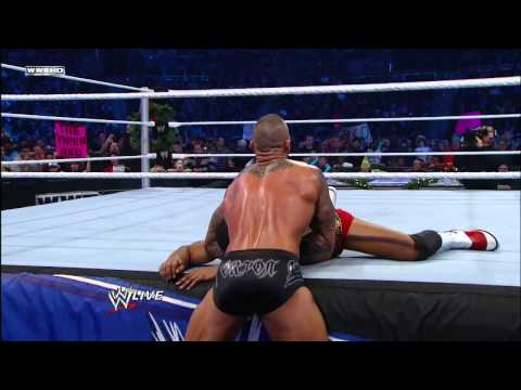Friday Night SmackDown - Randy Orton vs. David Otunga  Miracle on 34th Street Fight