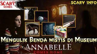 Mengulik Benda Mistis Di WARREN'S OCCULT MUSEUM dalam film ANNABELLE COMES HOME (2019)