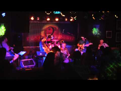 """Crazy Fingers """"Not Fade Away~Conscious Evolution~Lay Lady Lay"""" The Funky Biscuit, 10-10-2013"""