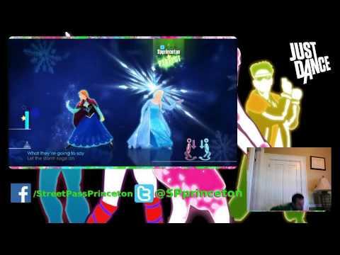 Just Dance 2015 Let It Go 5 Stars Idina Menzel