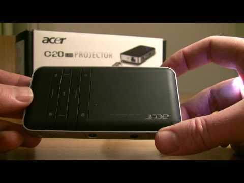 Acer C20 Pico Projector Review: Part 1