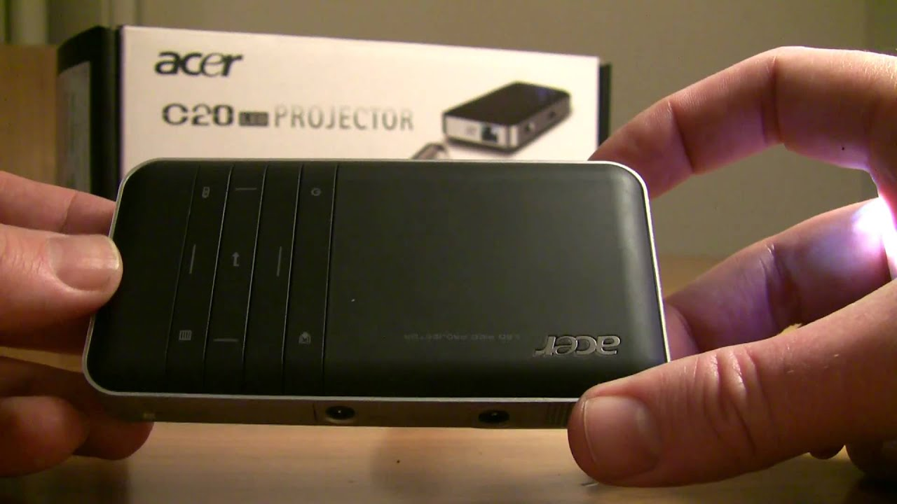 acer c20 pico projector review part 1 youtube rh youtube com Acer C120 Projector acer c20 led projector user manual