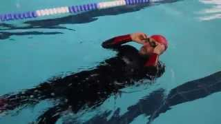 Triathlon Swimming Skills - How to clear your goggles