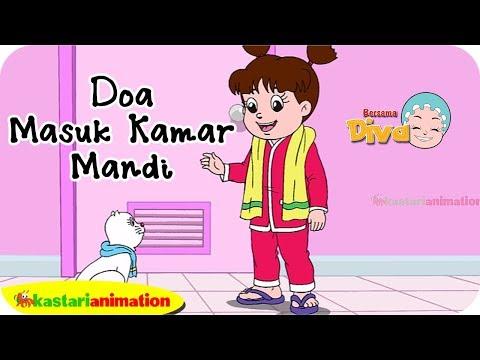 Doa Masuk Kamar Mandi bersama Diva | Kastari Animation Official