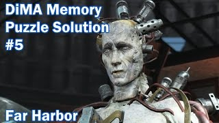dima memory puzzle 5 fallout 4 far harbor dlc