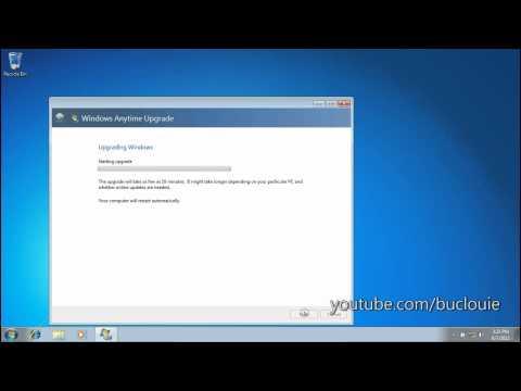Windows 7 Anytime Upgrade