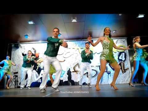ESCUELA DE BAILE RAUL SHOW EN PUERTOLLANO LATIN FESTIVAL 2017