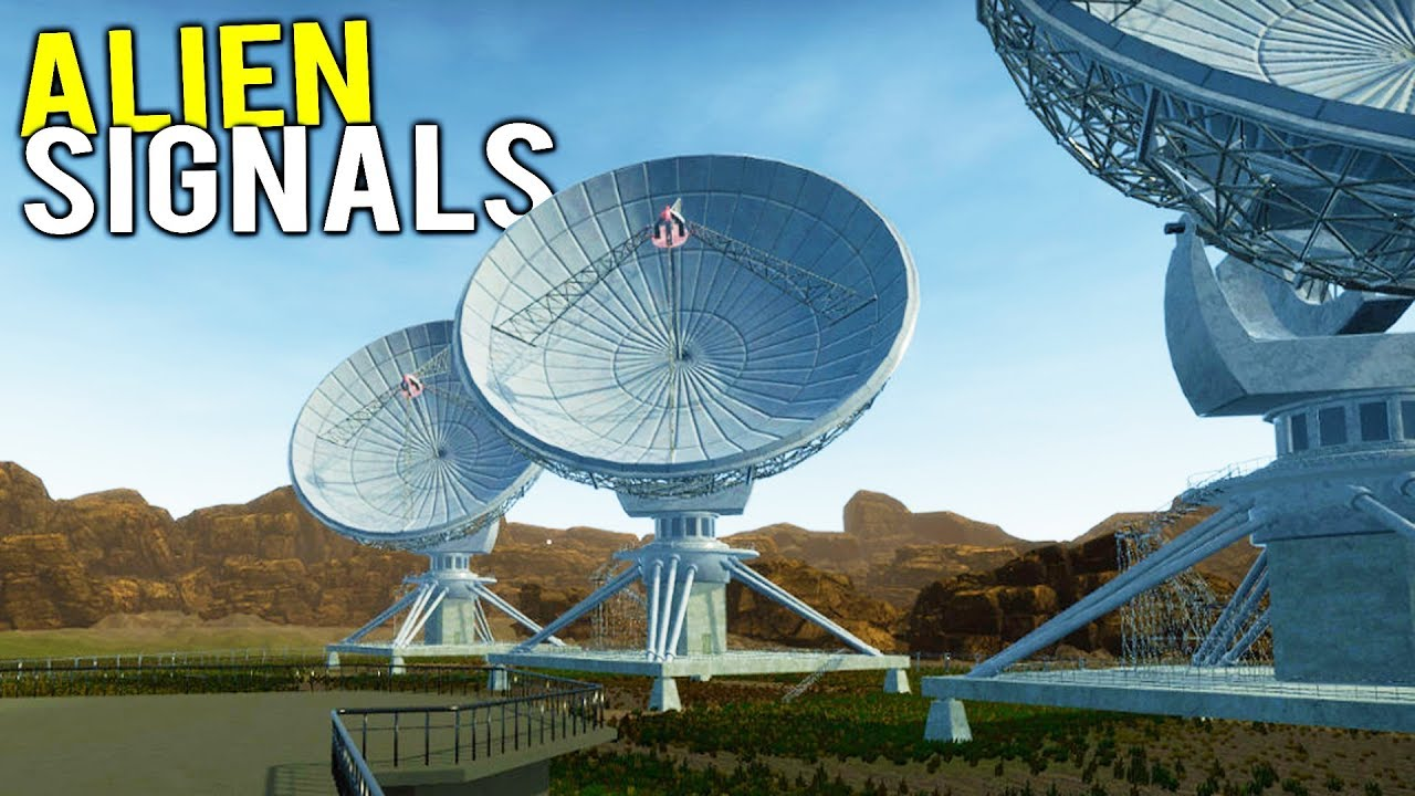 LOOKING FOR ALIEN MESSAGES WITH A GIANT SATELLITE STATION! - SETI Signal  Simulator Gameplay
