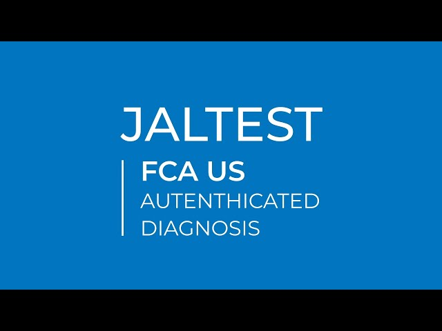 JALTEST | FCA US Autenthicated diagnosis