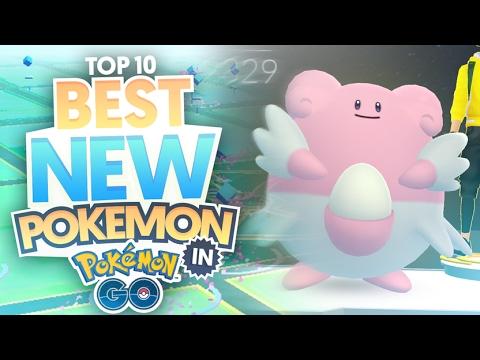 Top 10 Best New Pokemon In Pokemon Go (Strongest Gen 2 Pokemon / Highest CP Gen 2 Pokemon)