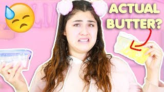 SUBSCRIBERS SENT ME REALISTIC SLIMES   SLIME PACKAGE REVIEW    Slimeatory #342