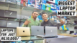 Lamington road Biggest laptop market    laptops in cheap rates Rs.10000/-   Day 13    onespotburners