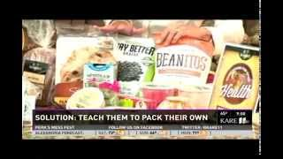 Better Bagged Lunches (9/20/14 on KARE 11)