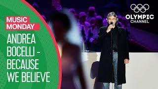 Download lagu Andrea Bocelli - Because We Believe (Ama Credi E Vai) - Torino 2006 Closing Ceremony |Music Monday