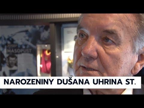 Dušanu Uhrinovi gratuloval k narozeninám předseda FAČR