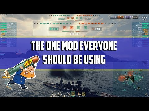 World Of Warships Mod That Everyone Should Be Using