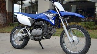 2015 Yamaha TT-R110E Team Yamaha Blue