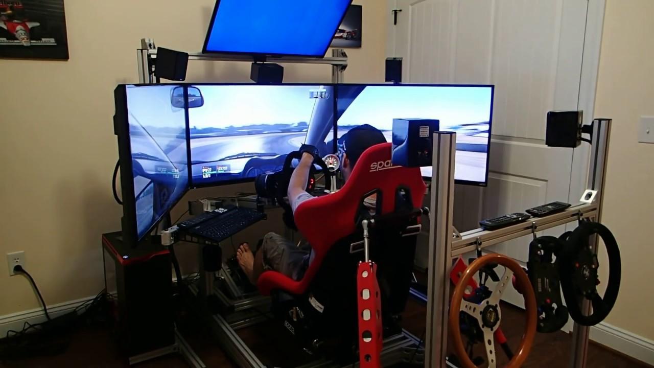 3DOF 80/20 SimXperience Racing Simulator