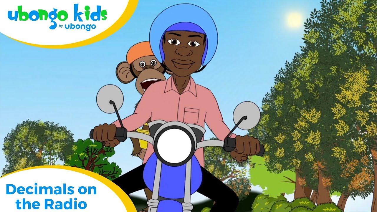 Full Episode #10: Decimals on the Radio | Ubongo Kids | Educational Cartoons from Africa