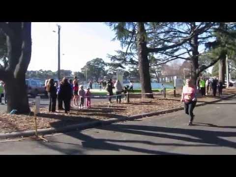 Traralgon finish line - Tam - 10km