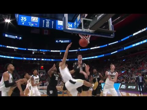 Live updates: Purdue and Butle purdue