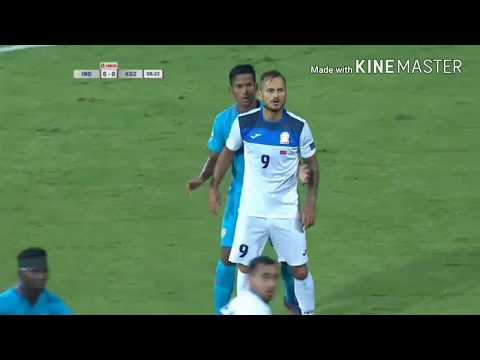India vs Kyrgyzstan republic 1-0 full match highlights 2017 AFC QUALIFIERS ROUND 3