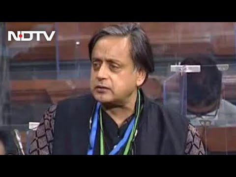 "Shashi Tharoor's Jibe At PM Over Budget: ""No Jawan, No Kisan"""