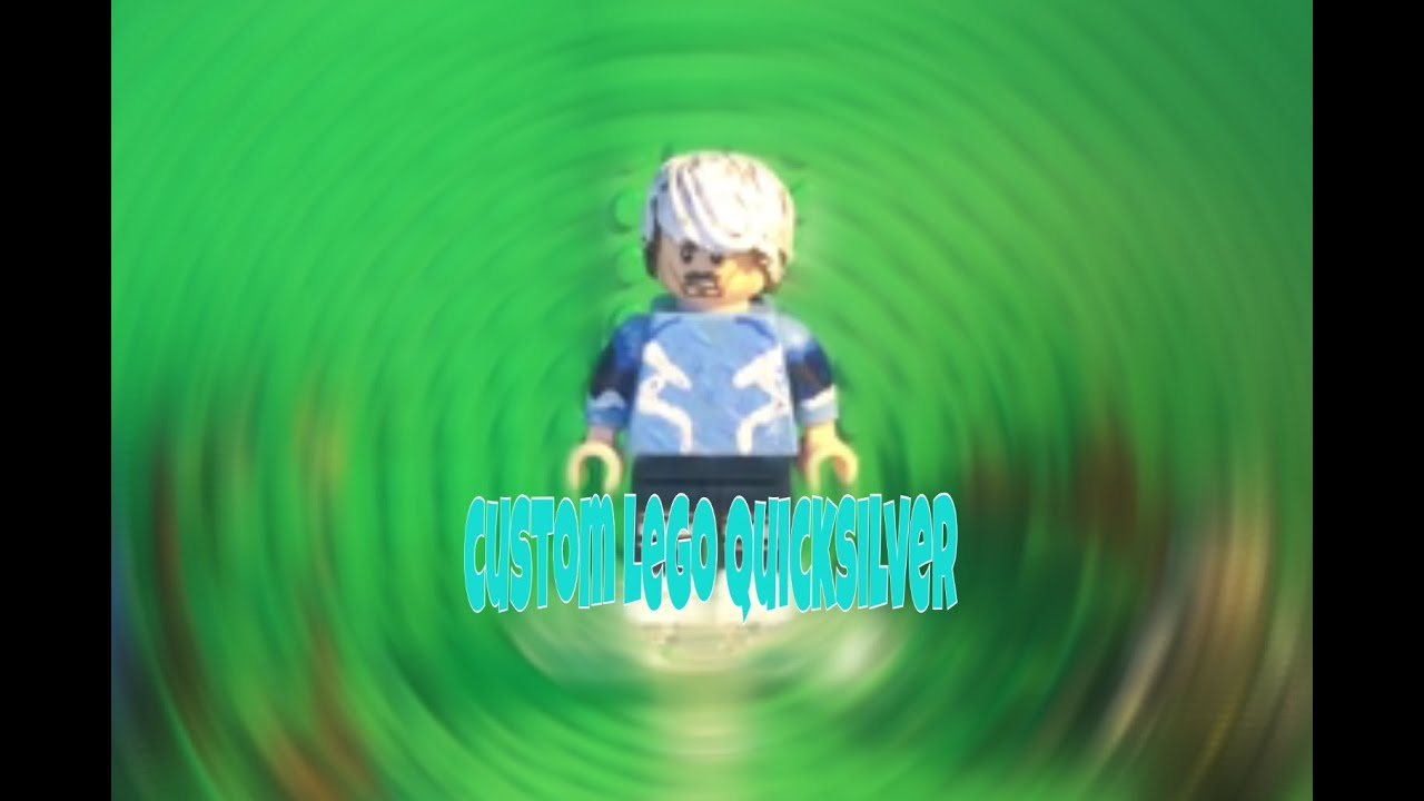 Custom Lego Quicksilver - YouTube